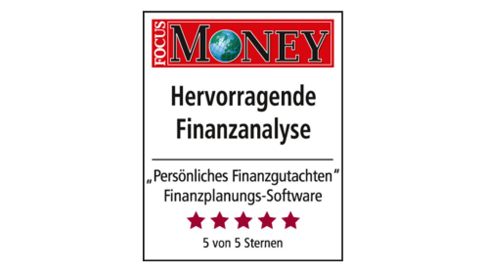 Siegel Hervorragende Finanzanalyse | Focus Money