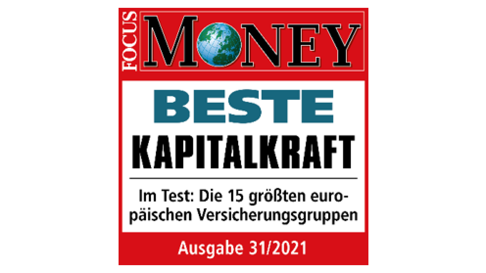 Siegel | Focus Money Beste Kapitalkraft, Ausgabe 9/2019