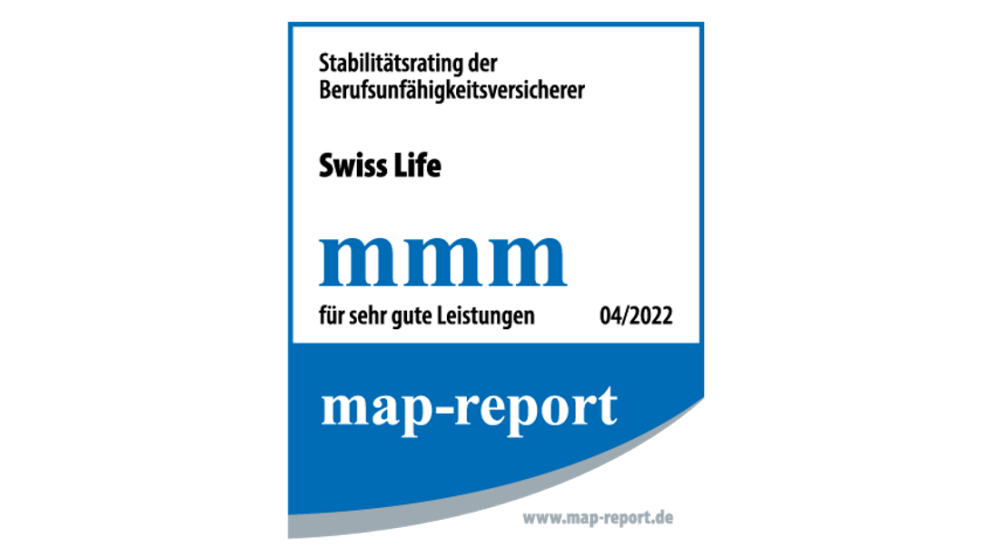 Stabilitätsrating der BU-Versicherer | map-report, Rating 03/2020